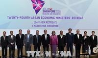 Asean aprueba prioridades de cooperación económica para promover conectividad regional