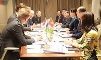 Prosiguen actividades de dirigente parlamentaria vietnamita en Países Bajos