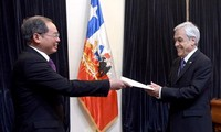 Chile quiere ampliar su relación con Vietnam en economía y comercio