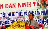 Vicepremier insta a Bac Giang a garantizar el consumo de productos agrícolas