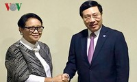 Vietnam e Indonesia por elevar su comercio a 10 mil millones de dólares en 2020