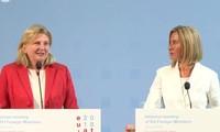 Conferencia de Cancilleres de la UE debate sobre Medio Oriente, Siria e Irán