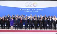 Cumbre del G20 llega a un consenso con una declaración conjunta