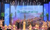 Efectúa en Hanói programa artístico en honor al Día Nacional de Inválidos y Mártires de Guerra