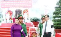 Asiste presidenta legislativa vietnamita a actos dedicados a personas meritorias