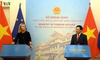 Unión Europea comparte preocupaciones de Vietnam ante escalada de tensiones en el Mar Oriental