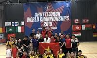 Vietnam ocupa el primer lugar en el Campeonato Mundial de Pateo de Volante 2019