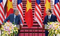 Vietnam y Malasia por elevar intercambio comercial a 20 mil millones de dólares