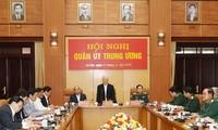 Celebran conferencia de la Comisión Militar Central