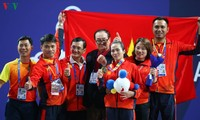 Vietnam segundo en tabla de medallas de juegos regionales