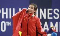 Deportistas vietnamitas cosechan más medallas de oro en tercera jornada de SEAGames 30