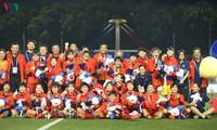 Equipo de fútbol femenino de Vietnam: campeón por sexta vez en juegos regionales