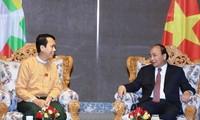 Recibe primer ministro vietnamita al jefe del Ayuntamiento de Rangún