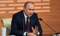 Presidente ruso aboga por normalizar relaciones con Estados Unidos