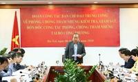 Revisan labores anticorrupción del Ministerio de Industria y Comercio