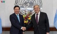 Vietnam contribuye a la paz y la estabilidad en la Asean, dice António Guterres