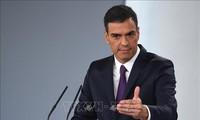 Presidente del Gobierno español anuncia nuevo gabinete