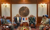 Vietnam y Unión Europea afianzan cooperación en el mantenimiento de la paz de las Naciones Unidas