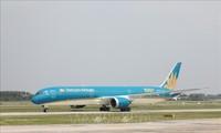 VietnamAirlines realiza vuelos para transportar chinos en Vietnam a casa