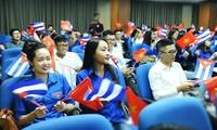 Vietnam y Cuba afianzan cooperación juvenil de cara al aniversario de sus relaciones