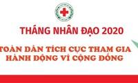 """Celebran en Tuyen Quang el programa """"Mes Humanitario"""" 2020"""