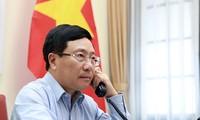 Vietnam y Japón abogan por fortalecer cooperación económica y de lucha contra Covid-19