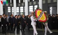 Dirigentes vietnamitas rinden homenaje a Vu Mao, exfuncionario de la Asamblea Nacional