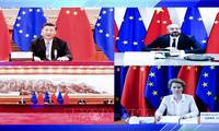 Conferencia virtual entre líderes de China y Unión Europea sobre relaciones bilaterales