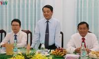 Frente de la Patria de Vietnam felicita a secta budista de Hoa Hao por aniversario