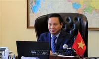 Embajadores de la Asean en Rusia aprecian papel de Vietnam en el contexto del covid-19