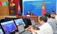 Vietnam preside la 38 Reunión virtual de Altos Funcionarios de Energía de la Asean
