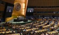 Asamblea General de la ONU aprueba resolución sobre la respuesta al covid-19