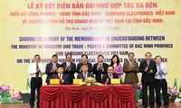 Firman en Bac Ninh un programa de apoyo para empresas