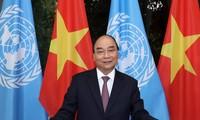 Premier vietnamita envía un mensaje a la reunión de alto nivel para conmemorar el 75 aniversario de la ONU