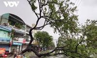 El tifón Molave azota el centro de Vietnam