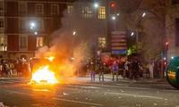 Protestas y disturbios violentos en España por restricciones por la pandemia