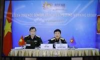 Conferencia virtual del grupo de trabajo de altos funcionarios de defensa de la Asean