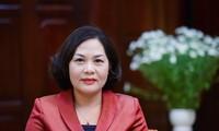 Vietnam designa nueva gobernadora del Banco del Estado