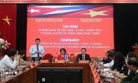 Revisan los logros de los nexos de solidaridad y amistad Vietnam-Cuba