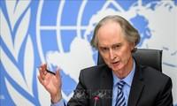 El enviado especial de la ONU para Siria insta a las partes a hacer esfuerzos en las negociaciones