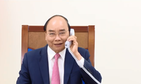 Premieres de Vietnam y Países Bajos sostienen conversaciones telefónicas