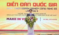 Viceprimer ministro insta a las empresas a desempeñar un papel pionero en el desarrollo de la economía digital