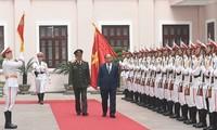 Fuerza de Inteligencia de Seguridad Pública recibe la Orden de Defensa de la Patria