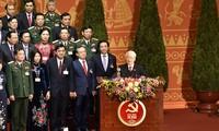 Ciudadanos vietnamitas muestran su entusiasmo ante el éxito del XIII Congreso del Partido