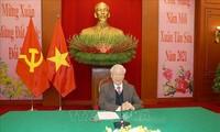 Líderes de  Vietnam y China abogan por fortalecer las relaciones binacionales
