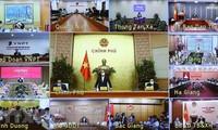 El Gobierno de Vietnam por impulsar la producción y los negocios tras el control de los nuevos brotes de covid-19