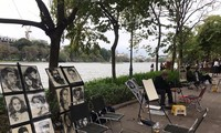Retratistas de Hoan Kiem: un oficio con tradición y atractivo turístico