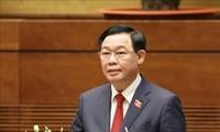 Líder camboyano felicita al nuevo presidente del Parlamento de Vietnam