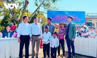 Casas nuevas y cómodas para personas menesterosas gracias al Fondo de Mil dongs