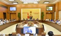 Inauguran la 55 reunión del Comité Permanente de la Asamblea Nacional